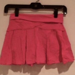 Girls Hard Tail Hot Pink Skort, size M 10-12